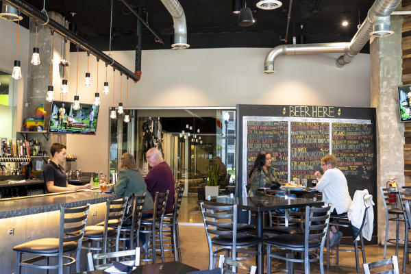 Hoppy Gnome Bar Interior in Fort Wayne, Indiana