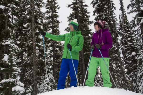 Snowshoeing at Big White Ski Resort