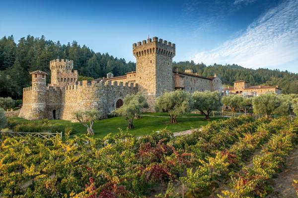 Castello Di Amorosa (Castle) Napa Valley
