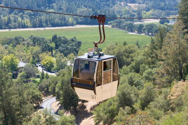 Gondola Ride at Sterling Vineyards