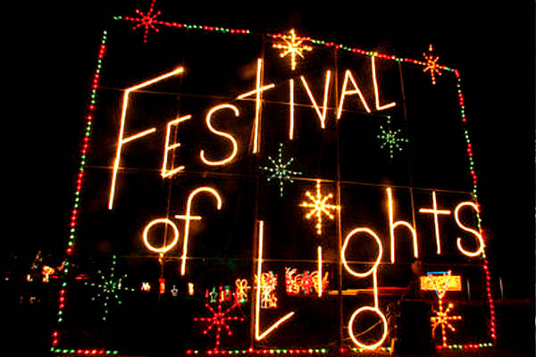 Holiday Lights in Utah Valley - Festival of Lights