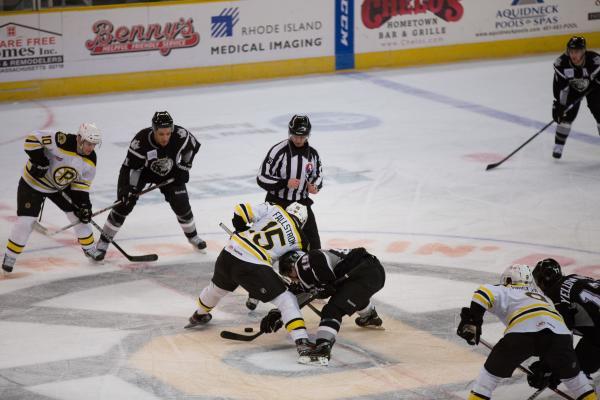 Bruins Face-Off