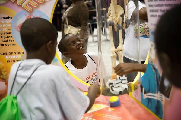 Science Central Bones Carnival Exhibit - Fort Wayne, IN
