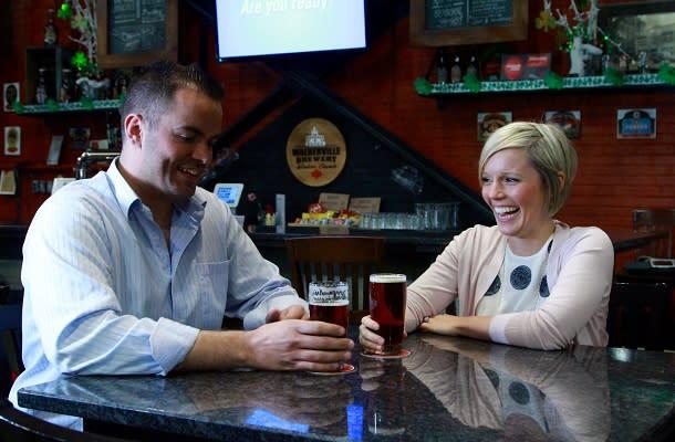 Walkerville Brewery tasting room