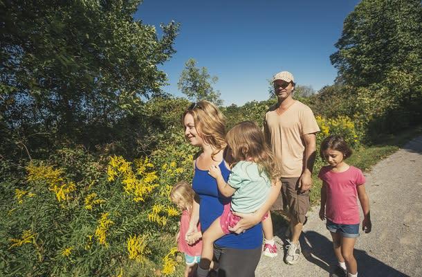 Family Hiking in Norfolk
