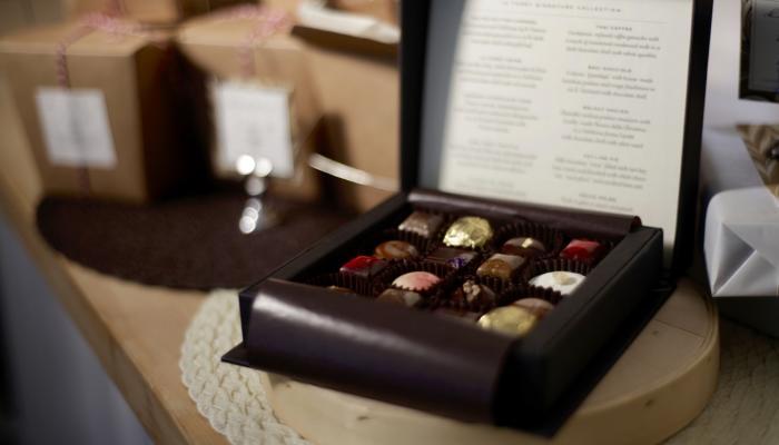 La Foret chocolates in Napa Valley