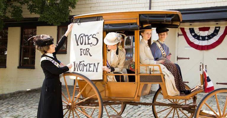 Maymont Women's Suffrage Event