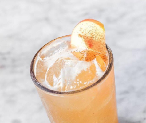Apple Bourbon Sour, available at North Italia