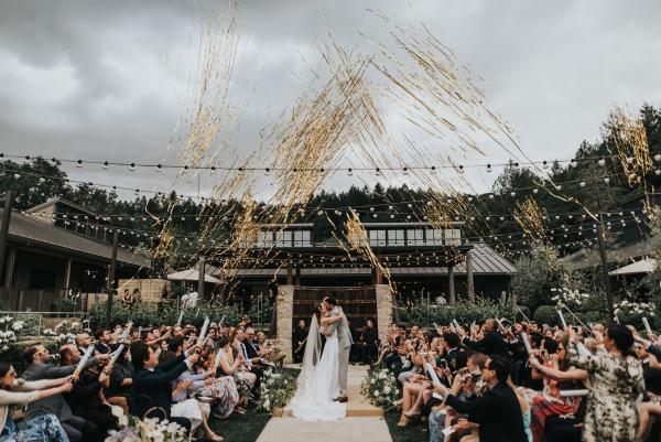 Brwood Estate Napa Valley Wedding