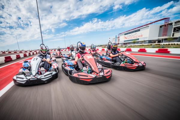 COTA Karting at Circuit of The Americas in Austin Texas