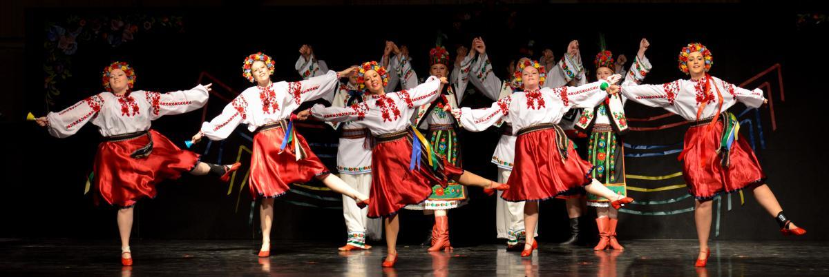 The Spirit of Ukraine Pavilion at Winnipeg's Folklorama