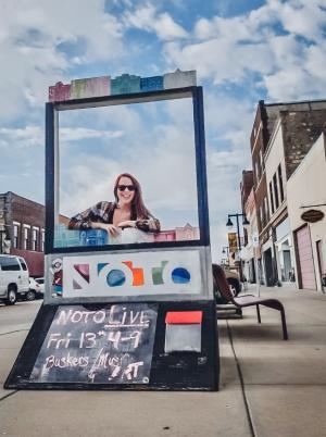 NOTO Arts District | Topeka, KS Rebekah Baughman