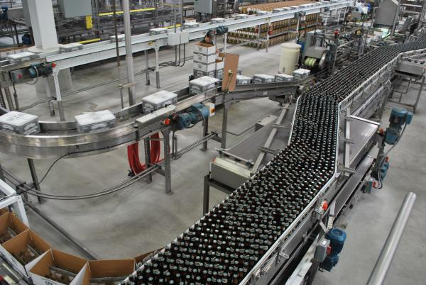 Sierra Nevada Brewing Company Bottling Facility on tour from Sacramento