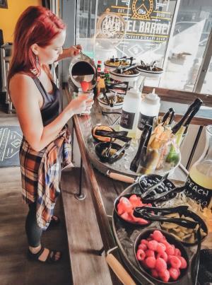 Bloody Mary Bar | Wheel Barrel Topeka, KS Rebekah Baughman