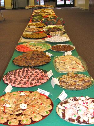 Cookie Walk at North Kent Presbyterian church (holiday)