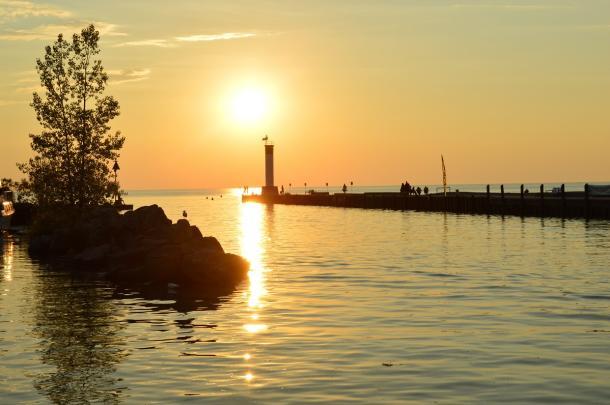 GB sunset smackwater