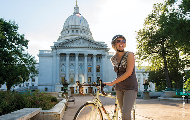Biking and Capitol
