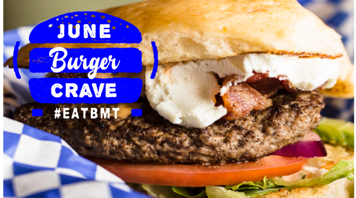 June Burger Crave Logo #EATBMT