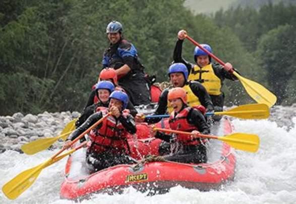 Half-day rafting on the Sjoa river