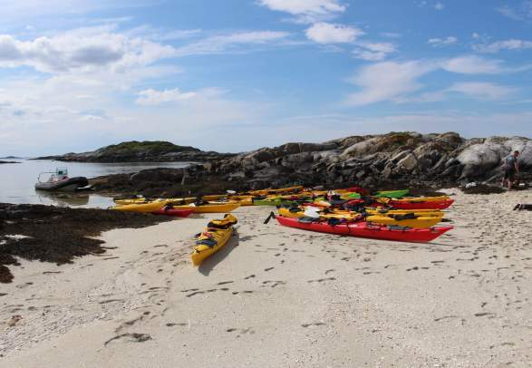 Explore Ytre Namdal - kayak trip etc.