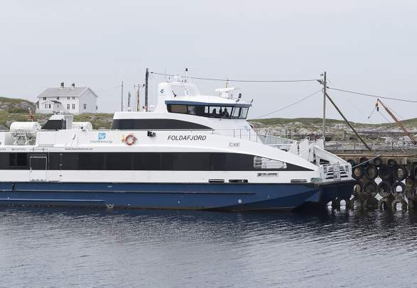 MS Foldafjord - båtrute: Namsos - Leka.