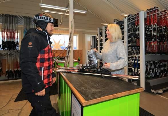 Oppdal skisenter - Ski rental
