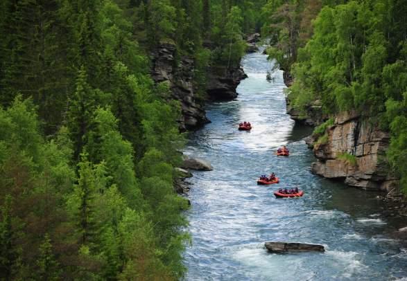 Rafting in Sjoa | Explore Sjoa