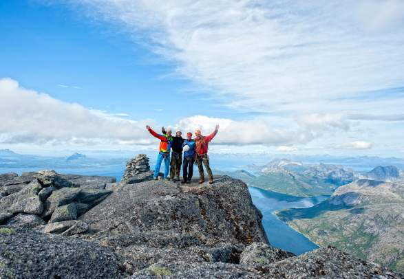 Climb Stetind with a local, internationally certified IFMGA Mountain Guide