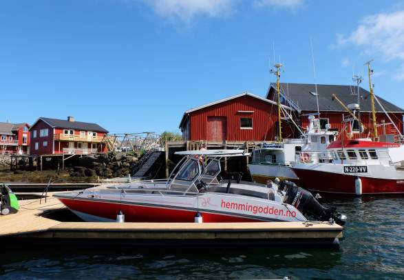 Overnatting rorbuer - Hemmingodden Lofoten Fishing Lodge