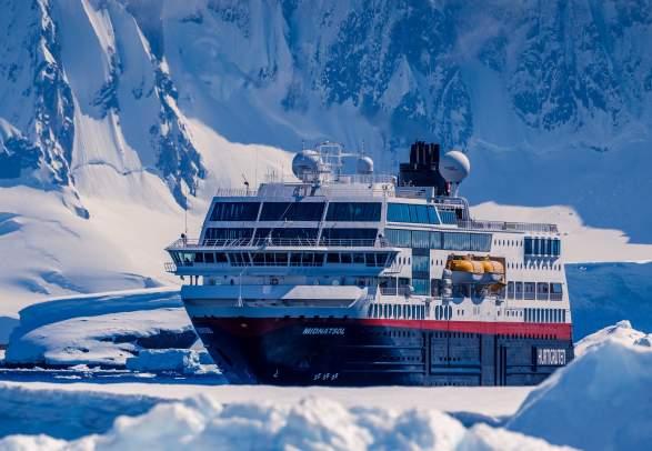 Aurora, whale and Hurtigruten