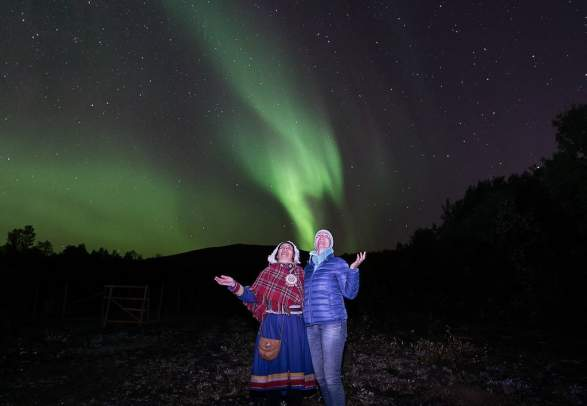 A Northern Lights adventure in Skibotn