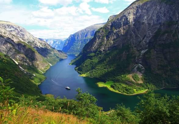 The UNESCO Nærøyfjord
