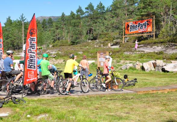 TrollAktiv sykkelpark i Evje