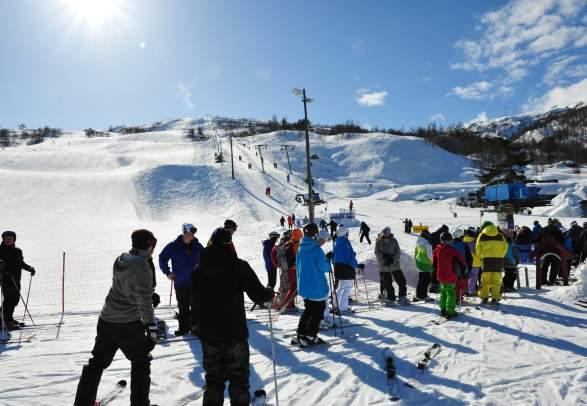 Sauda Ski Centre