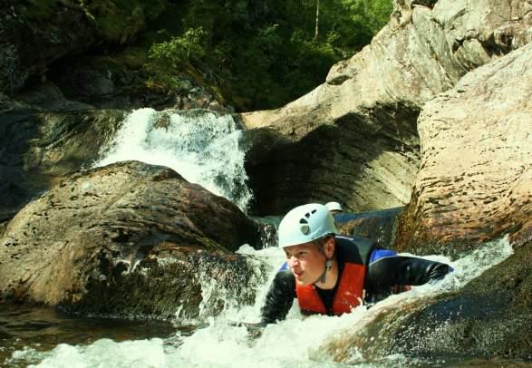 Schluchtwanderung / canyoning