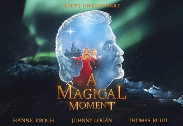 """""""A magical moment"""" med Hanne Krogh, Johnny Logan og Thomas Ruud på Buen kulturhus"""