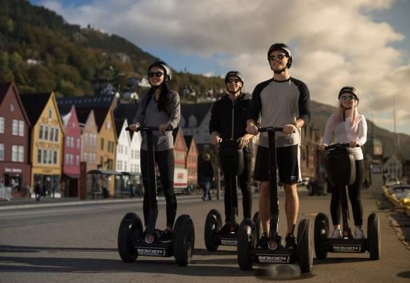 Bergen Segway - Bergens beste utsikter