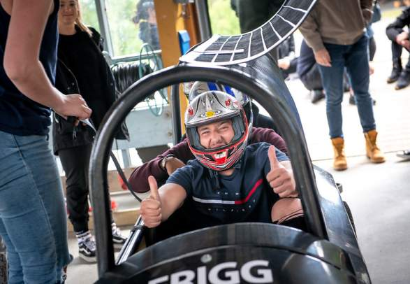 Hjulbob i Lillehammer Olympiske Bob- og akebane