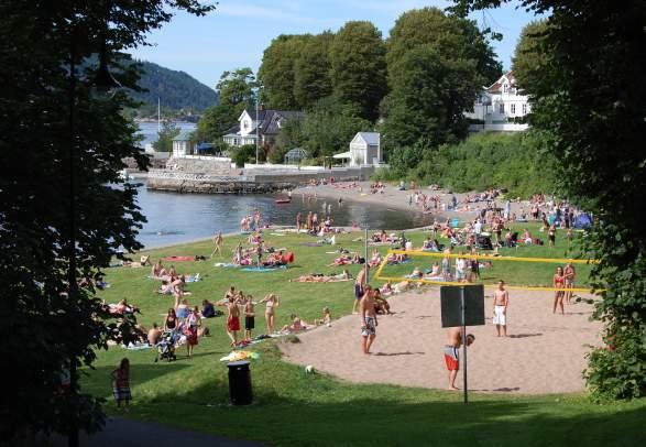 Badeplasser i Drøbak: