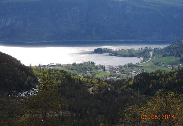 Drøymarnuten, Bygland, 710 m.a.s.l.