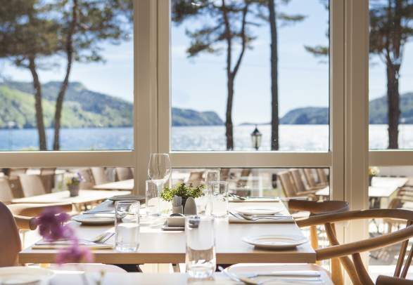 Rosfjord Strandhotel restaurant