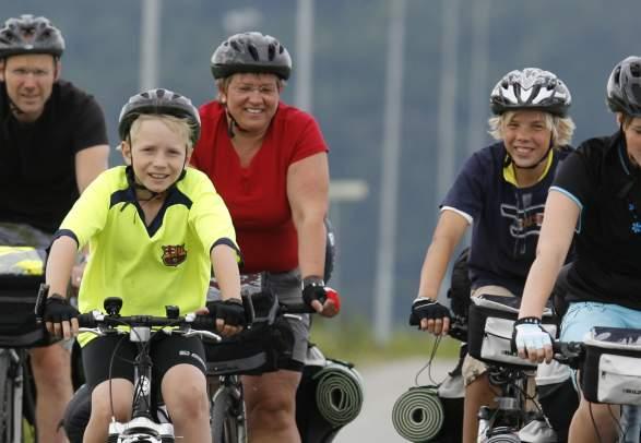 Sykkelturforslag på Innherred