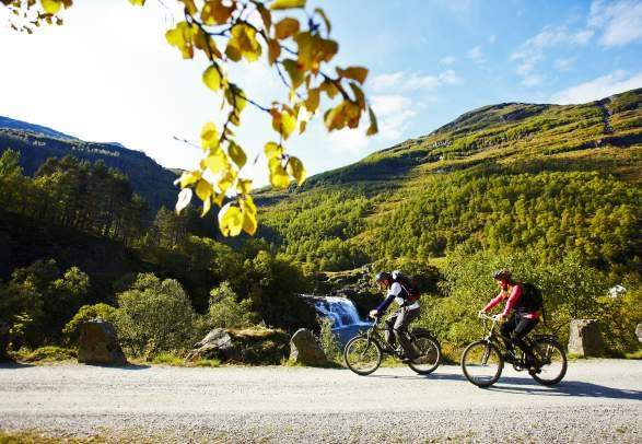 Sykkel - Rallarvegen