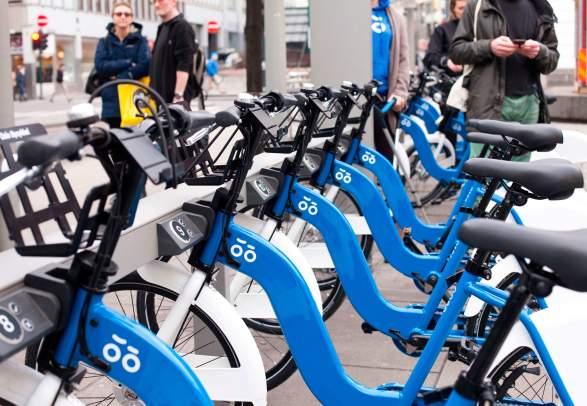 City bikes: Oslo Bysykkel