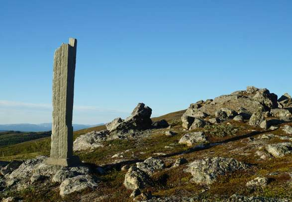 Hiking: National Park Monument Stone, Lierne National Park