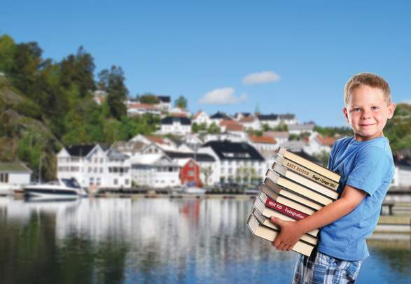 The book town Tvedestrand
