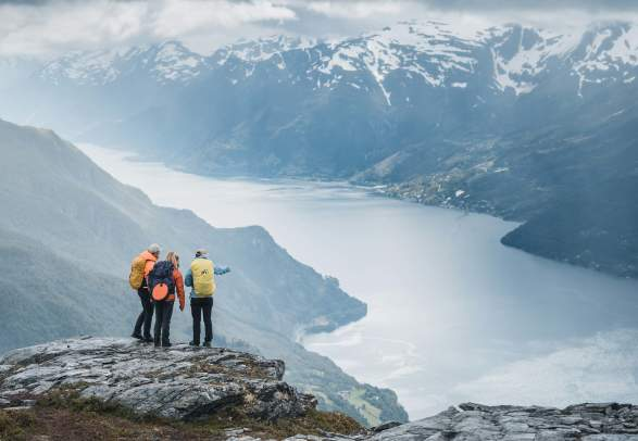 HM Queen Sonja's panoramic hiking trail