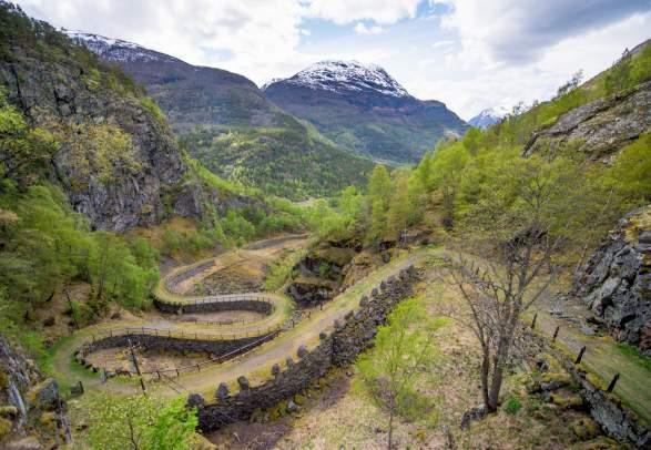 The Kings's road from Kyrkjestølen til Maristova
