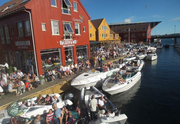 Concert at the fish market in Kristiansand