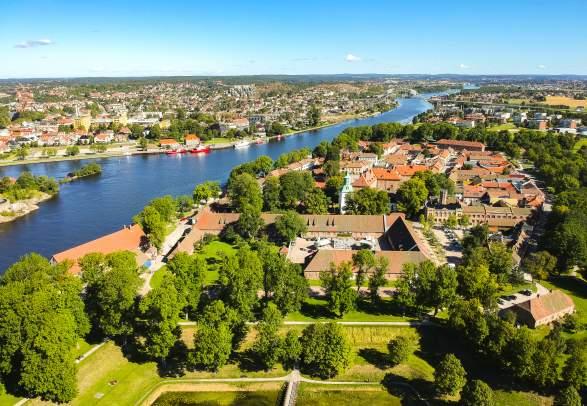 The Old Town - Gamlebyen Fredrikstad